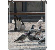 Cat amongst the pigeons iPad Case/Skin