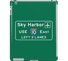 Phoenix Sky Harbor International Airport (PHX), Road Sign, Arizona iPad Case/Skin
