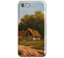 Stories from the old farm - sunflowers iPhone Case/Skin