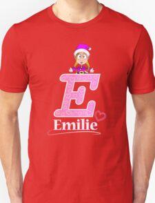'E' is for Emilie! Unisex T-Shirt
