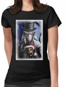 Festive Undertaker Womens Fitted T-Shirt