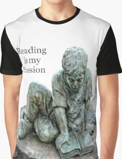 My Passion is for Reading Graphic T-Shirt
