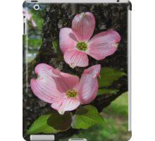 Pink Dogwood Blossoms iPad Case/Skin