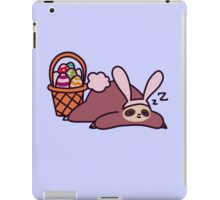Easter Bunny Sloth iPad Case/Skin