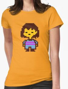Undertale Frisk Womens Fitted T-Shirt