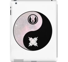star wars yin yang version 3 iPad Case/Skin