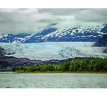 Medenhall Glacier Photographic Print