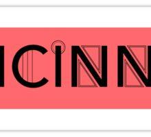 Art Deco Cincinnati  Sticker
