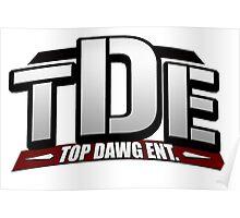 Top Dawg Entertainment - TDE - Kendrick Lamar School Boy Q Poster