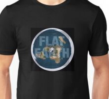 Flat earth,boom,reality check, Unisex T-Shirt