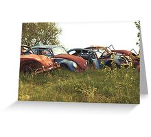 Automobile Graveyard No 11 Greeting Card