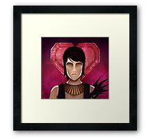 Romanced Morrigan Framed Print