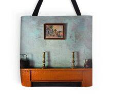 Antique Mantelpiece Still Life Tote Bag