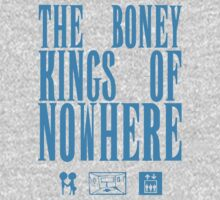 The Boney Kings of Nowhere -Blue Kids Tee
