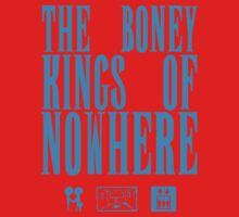 The Boney Kings of Nowhere -Blue Kids Tee