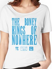 The Boney Kings of Nowhere -Blue Women's Relaxed Fit T-Shirt