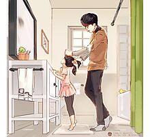 No.1 Dad Yoongi Photographic Print