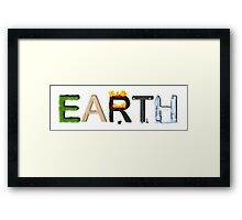 Earth Elements Framed Print