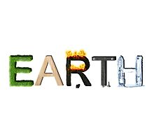 Earth Elements Photographic Print