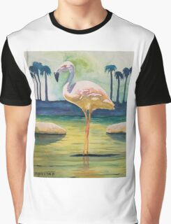 FLAMINGO SOLO Graphic T-Shirt
