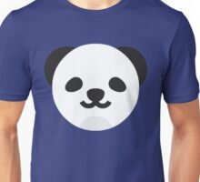 Cartoon Panda Face Unisex T-Shirt