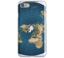The truth, flat earth ,  iPhone Case/Skin