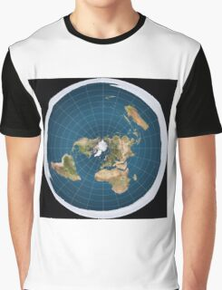 The truth, flat earth ,  Graphic T-Shirt