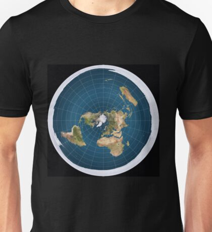 The truth, flat earth ,  Unisex T-Shirt