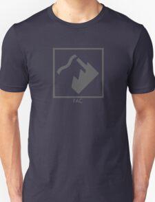 Record Label 4 (grey) Unisex T-Shirt