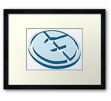 EG - Evil Geniuses Vector Logo  Framed Print