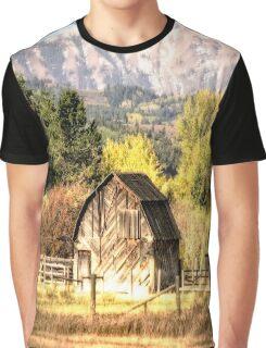 Palisades Idaho Barn Graphic T-Shirt