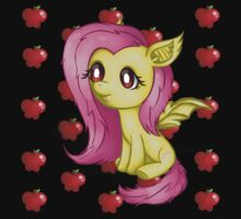 My Lil' Pony - Vampire Fruitbat Flutterbat - Fluttershy One Piece - Long Sleeve