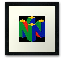 N64 Logo (Without Text) Framed Print