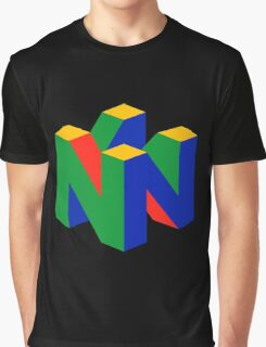 N64 Logo (Without Text) Graphic T-Shirt