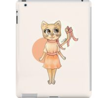 Ribbon Kitty iPad Case/Skin