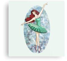 Ariel - Ballerina Metal Print