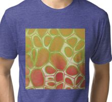 Cells Abstract Five Tri-blend T-Shirt