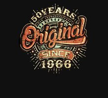 Used look 50 Years Original since 1966 - Birthday gift 50th for shirt cups and many more.  Unisex T-Shirt