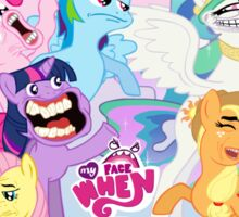 My Little Pony, Rageface is magic Sticker