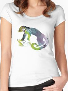 Kinkajou  Women's Fitted Scoop T-Shirt