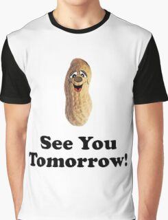 See You Tomorrow Peanut Graphic T-Shirt