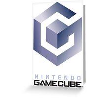 GameCube Logo Greeting Card