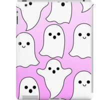 pastel ghosts pink iPad Case/Skin