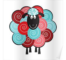 Curly the Sheep Poster