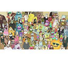 Zany Characters Photographic Print