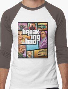 GTA 5 Style, Breaking Bad art! Men's Baseball ¾ T-Shirt