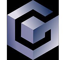 GameCube Logo (Without Text) Photographic Print
