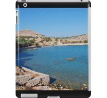 Pondamos beach, Halki iPad Case/Skin