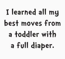 Toddler Full Diaper Baby Tee