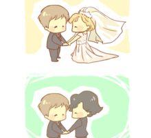 When he loved me - II Sticker